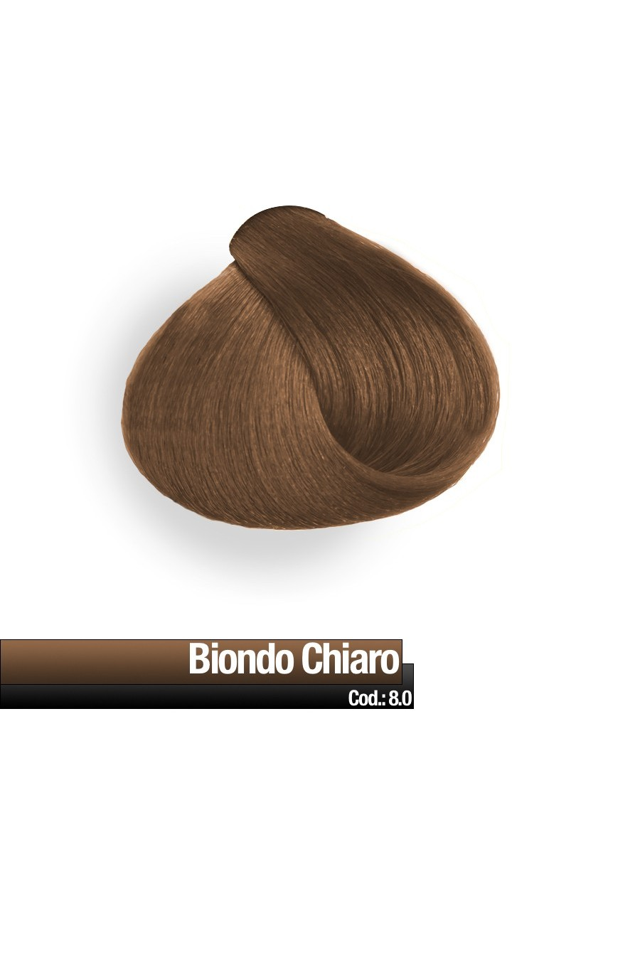 CREMA COLORE 8.0 BIONDO CHIARO RR