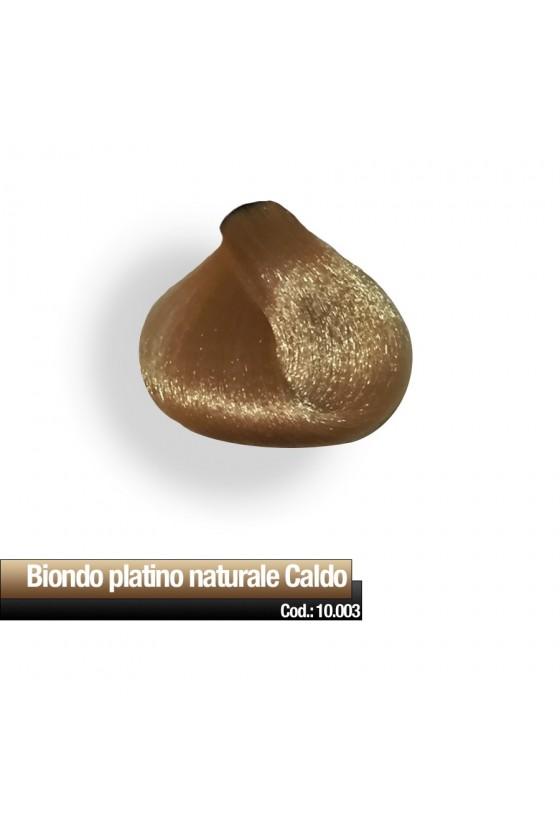 CREMA COLORE 10.003 BIONDO PLATINO NATURALE CALDO RR
