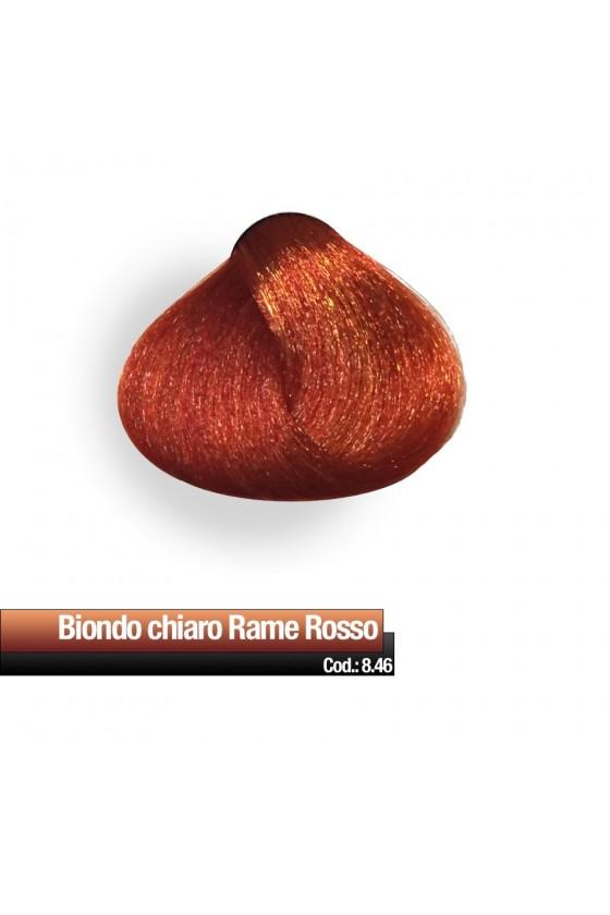 CREMA COLORE 8.46 BIONDO CHIARO RAME ROSSO RR