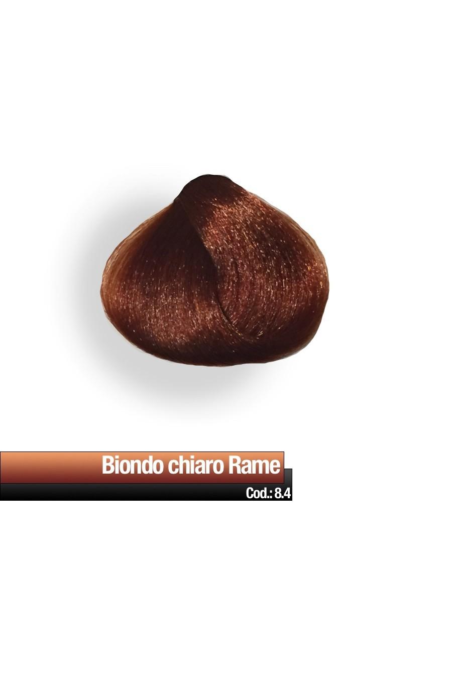 CREMA COLORE 8.4 BIONDO CHIARO RAME RR