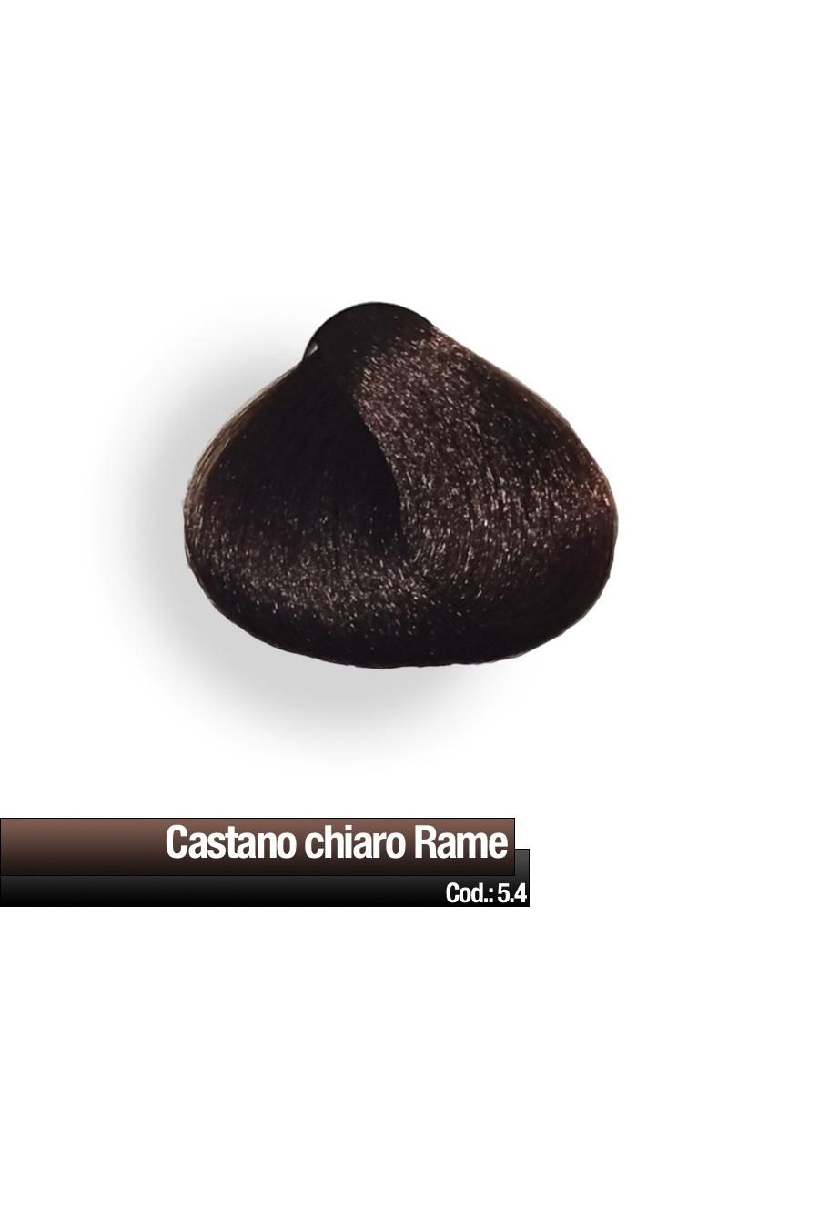 CREMA COLORE 5.4 CASTANO CHIARO RAME RR