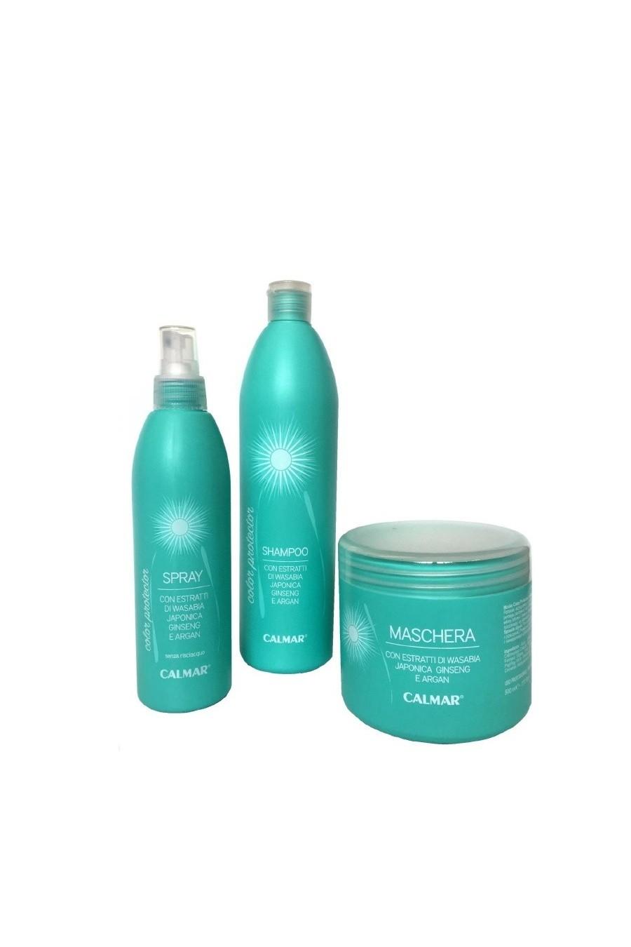 LINEA COLOR PROTECTOR (Shampoo, maschera, spray protettivo)