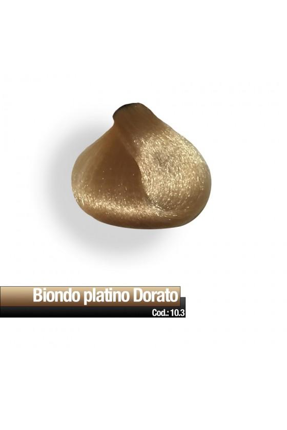 CREMA COLORE 10.3 BIONDO PLATINO DORATO RR