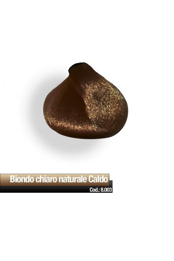 CREMA COLORE 8.003 BIONDO CHIARO NAT CALDO RR
