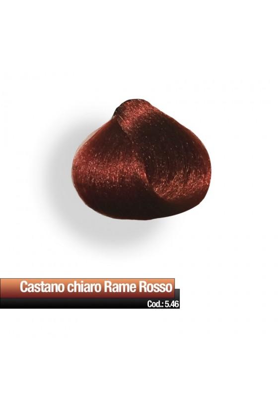 CREMA COLORE  5.46 CASTANO CHIARO RAME ROSSO RR