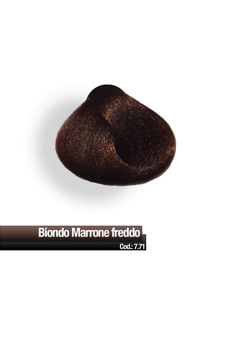 CREMA COLORE 7.71 BIONDO MARRONE FREDDO RR